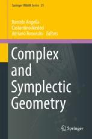 Complex and Symplectic Geometry