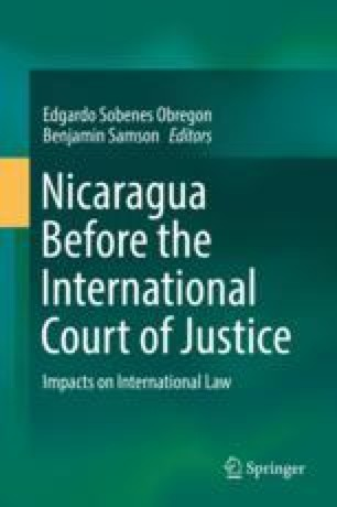 Nicaragua in the international court of justice and the law of nicaragua in the international court of justice and the law of treaties springerlink fandeluxe Choice Image