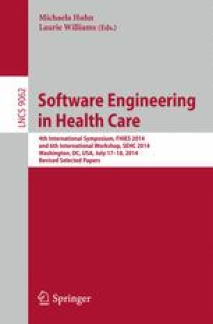 Software Engineering in Health Care