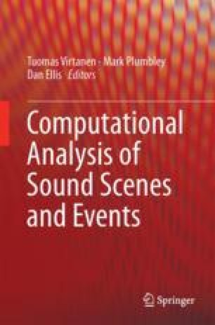 Computational Analysis of Sound Scenes and Events
