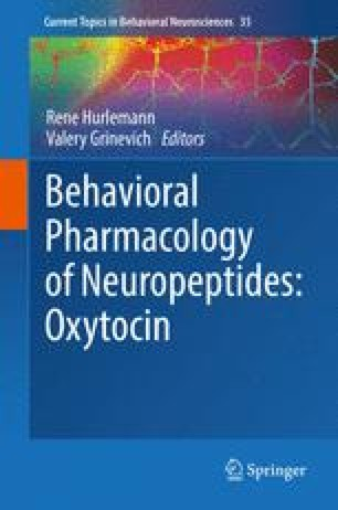 Behavioral Pharmacology of Neuropeptides: Oxytocin