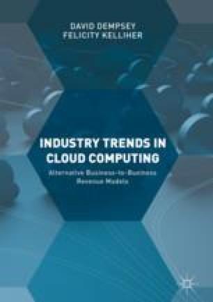 Industry Trends in Cloud Computing