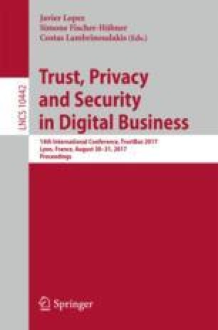 Trust, Privacy and Security in Digital Business