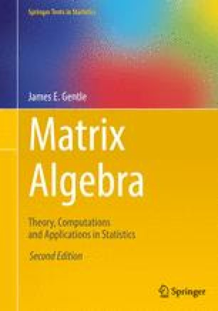 Numerical Linear Algebra | SpringerLink