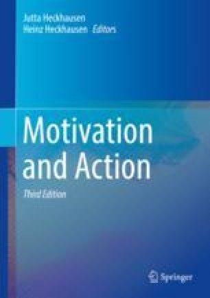 Motivation and Volition in the Course of Action | SpringerLink