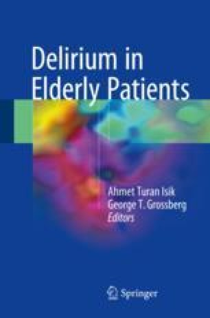 Approach to the Elderly Patient with Delirium: Nursing