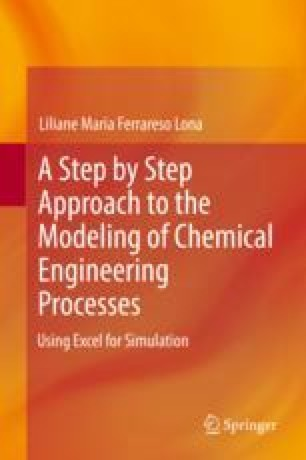 A Step by Step Approach to the Modeling of Chemical Engineering Processes