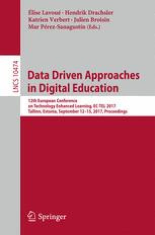 Data Driven Approaches in Digital Education