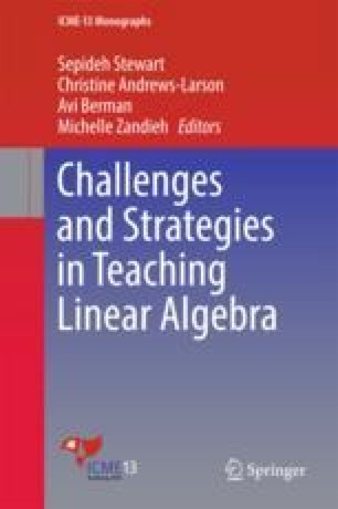 Challenges and Strategies in Teaching Linear Algebra
