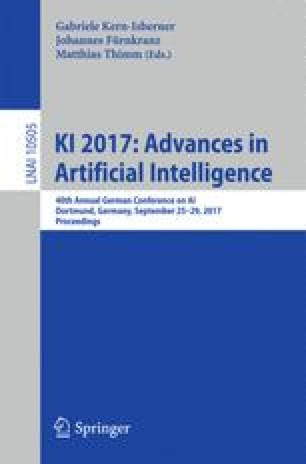 KI 2017: Advances in Artificial Intelligence