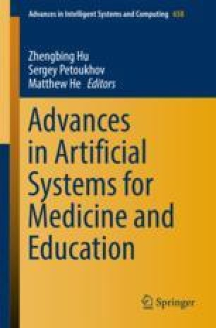 Advances in Artificial Systems for Medicine and Education