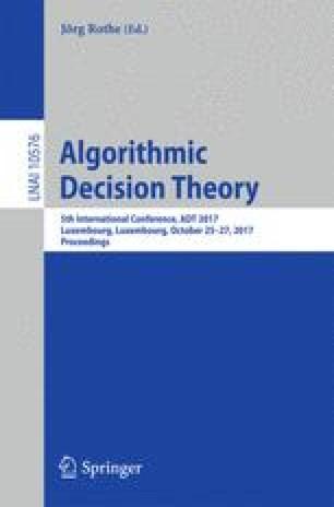 Algorithmic Decision Theory