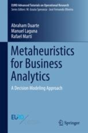 Metaheuristics for Business Analytics
