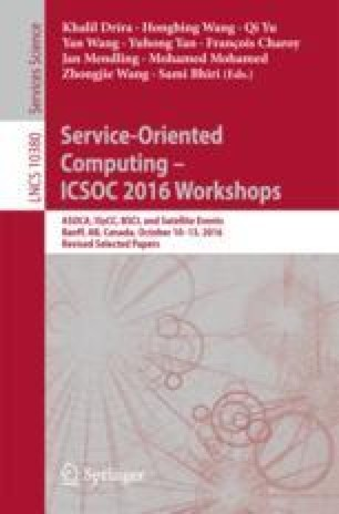 Service-Oriented Computing – ICSOC 2016 Workshops