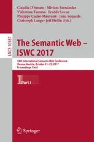 The Semantic Web – ISWC 2017