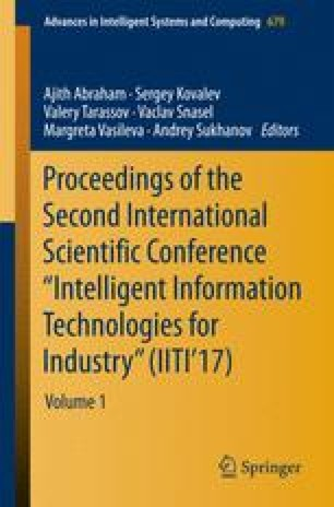 """Proceedings of the Second International Scientific Conference """"Intelligent Information Technologies for Industry"""" (IITI'17)"""
