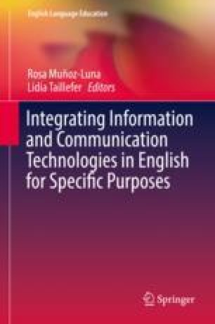 Integrating Information and Communication Technologies in English for Specific Purposes