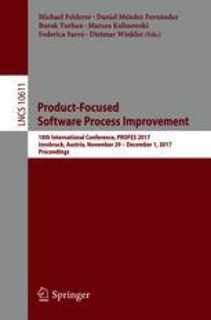 Product-Focused Software Process Improvement