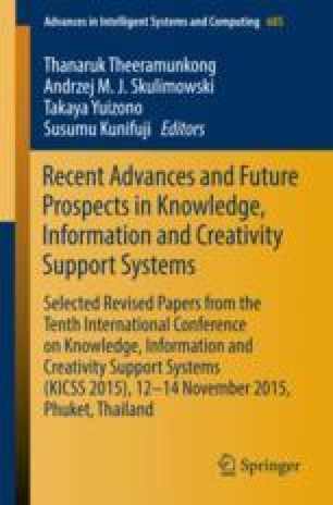Recent Advances and Future Prospects in Knowledge, Information and Creativity Support Systems