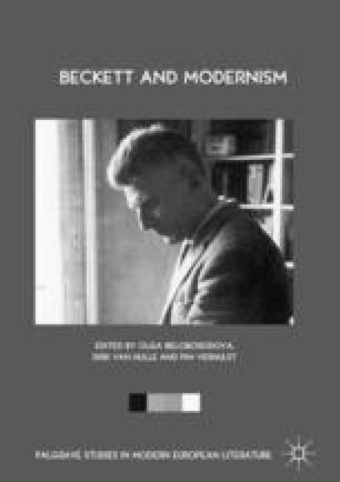 Samuel Beckett And Modern Dance Springerlink