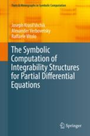 The Symbolic Computation of Integrability Structures for Partial Differential Equations