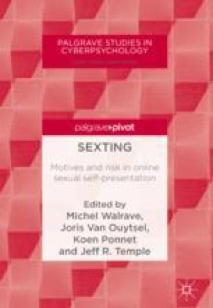Sexting and the Law | SpringerLink