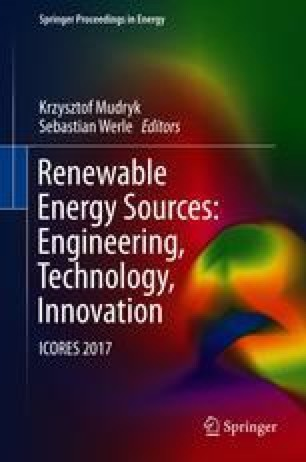 Renewable Energy Sources: Engineering, Technology, Innovation
