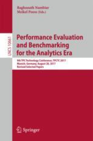 Performance Evaluation and Benchmarking for the Analytics Era