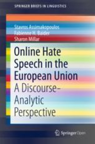 Young People's Perception of Hate Speech | SpringerLink