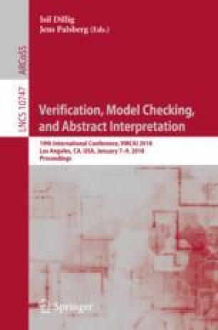 Verification, Model Checking, and Abstract Interpretation