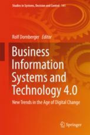 Business Information Systems and Technology 4.0
