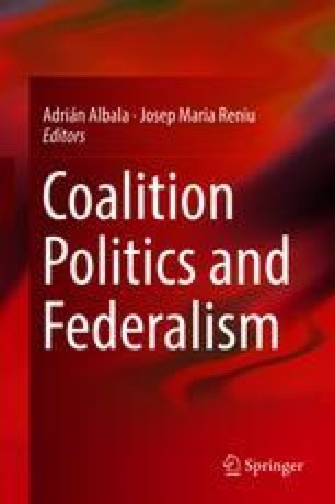 Coalition Politics in a Federalized Party System: The Case