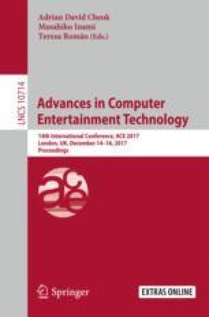 Advances in Computer Entertainment Technology