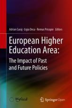 corruption the lack of academic integrity and other ethical issues  european higher education area the impact of past and future policies