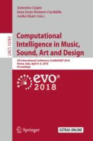 Computational Intelligence in Music, Sound, Art and Design