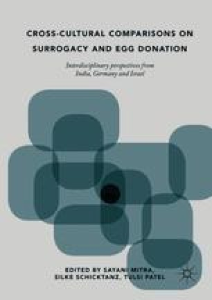 Cross-Cultural Comparisons on Surrogacy and Egg Donation