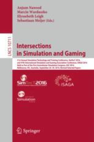 Intersections in Simulation and Gaming