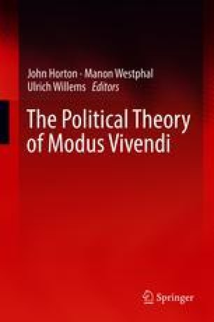 The Political Theory of Modus Vivendi
