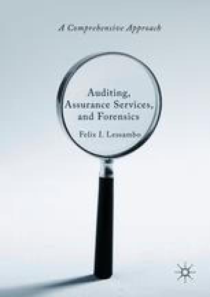 Audit Evidence And Documentation SpringerLink