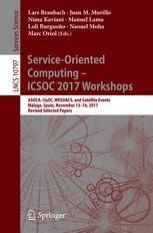Service-Oriented Computing – ICSOC 2017 Workshops