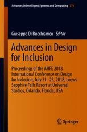Advances in Design for Inclusion