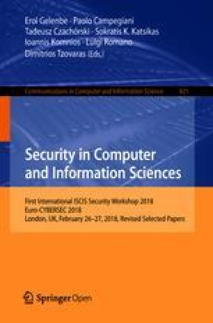 Security in Computer and Information Sciences