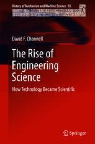 The Rise of Engineering Science