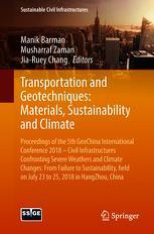 Transportation and Geotechniques: Materials, Sustainability and Climate