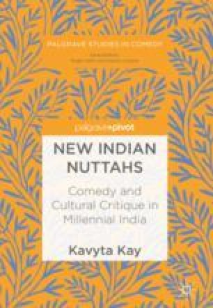 Riffing India Comedy, Identity, and Censorship   SpringerLink