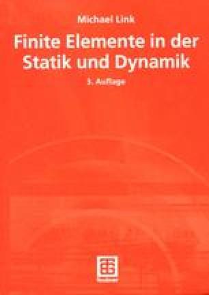 Der grundgedanke der methode der finiten elemente for Freiheitsgrade statik