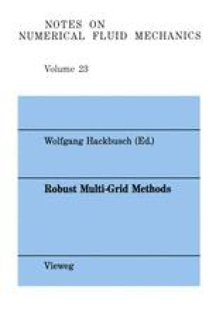 Finite Volume Multigrid Solutions of the Two-Dimensional