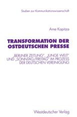 Zusammenfassung Und Schluß Springerlink