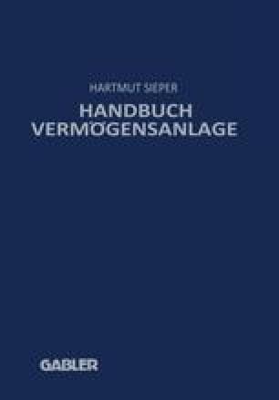 Handbuch Vermögensanlage