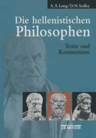 Die hellenistischen Philosophen